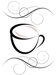 Coffee. Vector