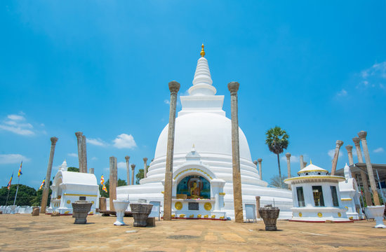 The Ruins Of Anuradhapura, Sri Lanka. Anuradhapura Is The First Most Ancient Of Sri Lankas Kingdoms