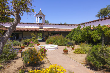 Mexican style house and garden