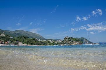 Parga, Greece - Valtos Beach - Ionian Sea