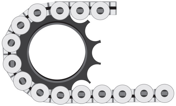 Element of a bicycle chain