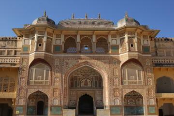 Ganesh Pol, Amber Fort, Jaipur, Indien