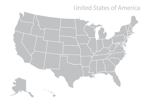 Map of U.S.A