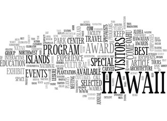 ALOHA CELEBRATED HERE BY LYNN COOK TEXT WORD CLOUD CONCEPT