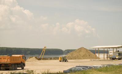 Stone quarry - excavating sand building materials company