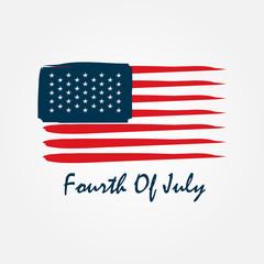 fourth of july usa flag