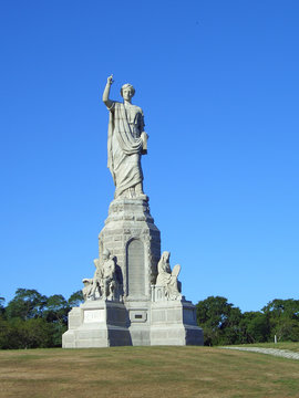 National Monument to the Forefathers in Plymouth Massachusetts