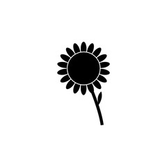 Sunflower symbol for download. Vector icons for video, mobile apps, Web sites and print projects.