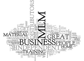 WHAT IS MLM TEXT WORD CLOUD CONCEPT