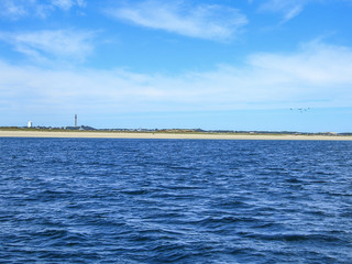Provincetown from Cape Cod Bay, Massachusetts, New England