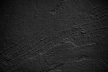 Black wall concrete texture
