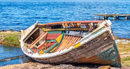 Barco velho.