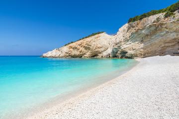Wall Mural - Porto Katsiki beach on the Ionian sea, Lefkada island, Greece.