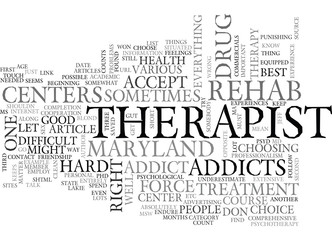 WHERE TO FIND MARYLAND DRUG REHAB CENTERS TEXT WORD CLOUD CONCEPT