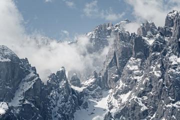 Sextner Rotwand in den Dolomiten
