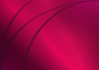 Geometric Dark Pink Background. Applicable for A4 Brochures, Banners, Invitations and Fliers. Modern Vector Illustration.