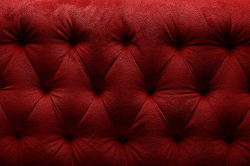 Bordo red cloth sofa texture background.Concept Textures of furniture Wall mural