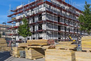 Bau Baustelle bauen Gebäude