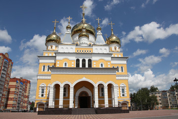The Church of Cyril and Methodius in Saransk. Mordovia republic. Russia