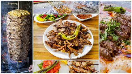 Türk Mutfağı; Et Yemekleri, kebap, ızgara