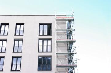 Neubau eines Gebäudes