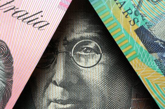 Australian dollar Австралийский доллар Dollaro australiano Australia 澳大利亚元 Currency オーストラリア・ドル Avustralya doları money Dollarydoos John Flynn