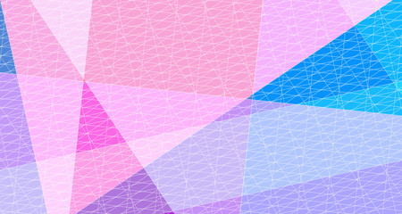 Abstract Artistic Creativity of Geometric Line pattern with colorful background.