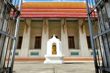 Ancient Buddhist Temple in Thailand.