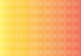 Abstract background vector yellow and orange stripes of clubs that overlap.