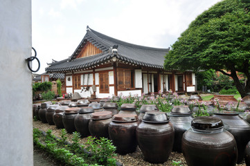 Korean style house in Jeonnju Korean style house village