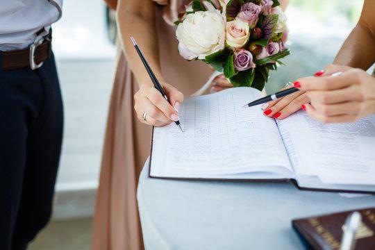 Signature wedding