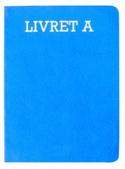 livret A, couleur bleue