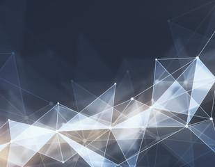 Polygonal backdrop