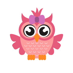 cartoon owl girl