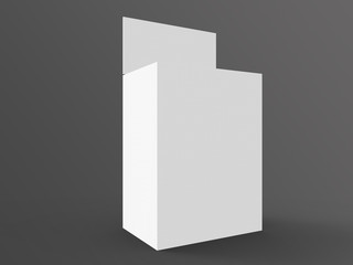 Store Palette with Crowner 3D Rendering
