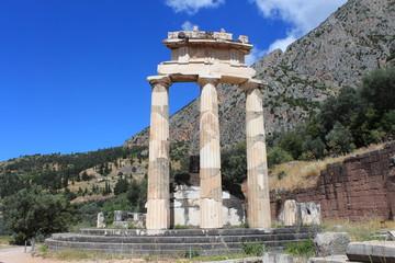 Grèce, site archéologique de Delphes