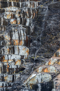Quarry of slate