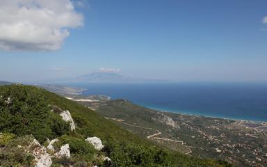 View from Kaki Rahi Tower, Zakynthos