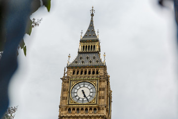 Beautiful view of Big Ben Tower in London, UK