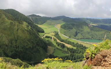 Sete Cidades, Sao MIguel, Azores, Portugal