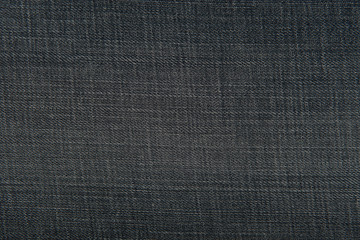 Dark blue denim jeans fabric texture for background or concept