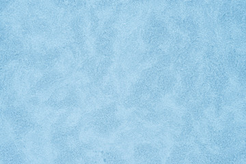 closeup to blue ice background texture