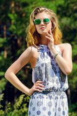 sunny fashion shot