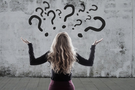woman with questions