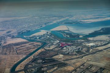 Yas Island, Abu Dhabi - Luftbild