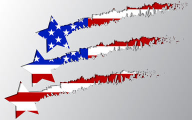 usa flag under star break Rasterized copy