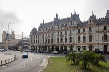 Roosevelt House or RImac Building in downtown Lima city - Lima, Peru