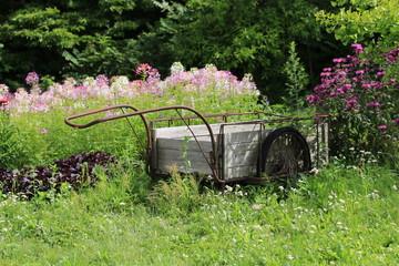 青山高原ハーブガーデンの農機具