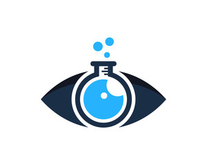 Eye Lab Icon Logo Design Element
