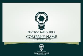 photography idea logo